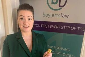 Boyletts Law Director Kim Boylett celebrates 6 months since Boyletts Law opened